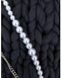 Sautoir Pearl & Fur